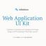 200多个UI组件简约的后台管理系统Web App快速原型设计UI工具包素材下载,(含sketch源文件)