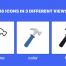 36个用户界面超过100个图标矢量图标3种不同的风格ui设计素材下载