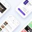 精品小清新全套app界面适用于iPhone X和8的电子商务用户界面工具包(含sketch源文件)
