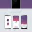 6款手机样机贴图模板APP应用界面展示UI设计作品集PSD分层素材