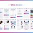 64个包含黑白2种风格的iOS界面体育博彩UI设计竞品素材下载(含Sketch源文件格式)