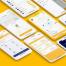 完整的30个app界面适用于iPhone X的共享旅行搭便车的UI工具包(含sketch源文件)
