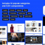 120+个顶尖高品质的现代网站UI源文件设计精品素材下载,提供包含psd和sketch格式的ui设计素材下载