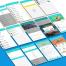 中文兼职求职APP界面设计UI面试作品源文件下载