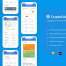 19个完美比特币区块链加密货币iOS应用程序UI界面设计素材下载,提供Sketch和XD的文件