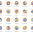 72个生态图标奶油糖果系列设计素材下载
