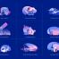 简洁清新的数字银行插图素材设计下载