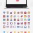 40个Web和移动端小清新图标素材下载