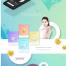 6套韩国未来科技人工智能虚拟现实商务网页模版PSD素材