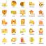 115旅行和旅游业的颜色矢量图标优质设计素材下载