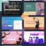 简洁大气的10个网页设计主图创意模板设计优质设计素材下载
