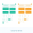简洁清新的App快速原型设计UI工具包下载(提供Sketch格式下载)