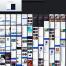 时尚潮酷的毕业设计App界面ui设计素材下载(提供Sketch格式下载)