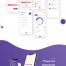 房子租赁和销售app应用界面ui设计素材下载