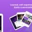 50多个音乐节网络及ipad平板电脑应用的UI套件ui设计素材下载