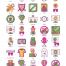 55个高级电子竞技图标设计素材下载