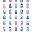 50个用户头像素材下载