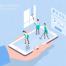 30款未来生活场景扁平2.5D插画网页UI插图APP设计AI矢量设计素材