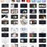 精品UI设计师面试作品集中文APP网页界面展示样机模板简历PSD设计素材