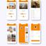 电子书和音频书籍界面UI工具包ui设计素材下载