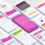 36个高度可自定义app界面设计UI Kit设计素材下载