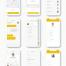 高品质出租车应用界面Taxi App UI套件提供Sketch和Adobe XD设计格式优质设计素材下载