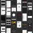 200个精美的app界面设计线框原型套件优质设计素材下载(提供PSD,Sketch和XD格式源文件)