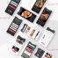 餐厅寿司餐厅app设计ui优质设计素材下载(提供Adobe XD格式下载)