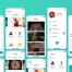 25个美食食品配方app界面UI设计素材下载