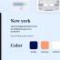 50多个甜品美食app界面UI设计素材下载