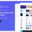 音乐流媒体服务ui用户界面工具包优质ui设计素材下载