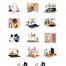 17个时髦的创意风格插图设计素材下载