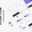 50多个出租车租车共享用车iOS界面ui设计优质设计素材下载(提供XD和sketch格式源文件)