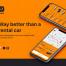 租车移动UI套件界面设计素材下载(提供Sketch和Adobe XD格式下载)