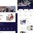 现代和干净模板企业网站HTML模板素材下载