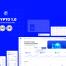 现代完美的数字货币CRYPTO加密货币的Web UI后台系统优质设计素材下载(提供Adobe XD格式源文件)