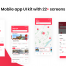 22个红色系的IOS UI套件设计素材下载