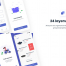 24个简洁的电商iOS移动ui界面设计优质设计素材下载(提供XD和sketch格式源文件)