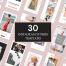 30个广告banner网络广告设计创意模板素材下载