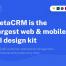 185个SaaS的CRM后台管理仪表板200个的UI组件优质设计素材下载(提供PSD、XD和sketch格式源文件)