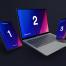 iPhone的11和MacBook Pro和iPad的专业实体模型优质设计素材下载(提供psd格式源文件)