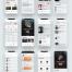 42个现代时尚高档的优质设计素材下载(提供PSD和XD格式源文件)