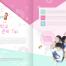 11款儿童学校培训学习教育画册手册海报PSD设计素材