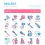 60个医疗卫生图标设计素材下载