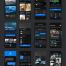 200个带暗黑模式风格出游旅行UI工具包优质设计素材下载(提供Adobe XD格式源文件)