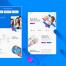 现代网页着陆页优质设计素材下载(提供psd格式源文件