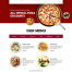 12款食物披萨牛排色拉麦片果汁韩国烧烤PSD分层海报设计素材模板