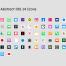 iOS 14 风格图标设计素材Icons